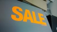 Таблички Sale