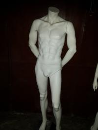 Манекен мужской HeadLess белый